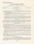 The Advocate, Vol. 1 No.2 by Fordham Law Alumni Association, Fordham Law School