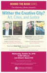 Wither the Creative City? Art, Cities, and Justice by David J. Goodwin, Patrick Verel, and Geeta Tewari