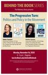 The Progressive Turn: Politics and Policy in the Movement