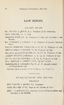 Bulletin of Information 1906-1907 by Fordham Law School