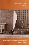 Bulletin of Information 1970-1971