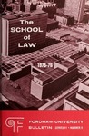 Bulletin of Information 1975-1976