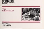 Bulletin of Information 1983-1984