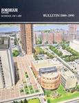 Bulletin of Information 1989-1990
