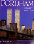 Bulletin of Information 1994-1995