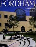 Bulletin of Information 1995-1996