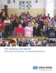 The Children Left Behind: Roma Access to Education in Contemporary Romania