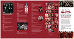 100 Years of Women at Fordham Law: Timeline Brochure by Fordham Law School