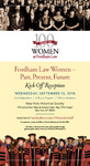 Fordham Law Women: Past, Present, Future