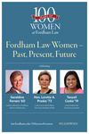 Fordham Law Women: Past, Present, Future: Poster by Fordham Law School