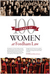 Fordham Law Women: Past, Present, Future: Program by Fordham Law School