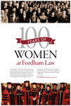 100 Years of Women at Fordham Law: Posters by Fordham Law School