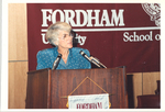 Geraldine Ferraro by Fordham Law School