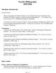 2005-2006 Fordham Law School Faculty Bibliography