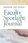 Faculty Spotlight Journal 2017