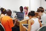 Study Room, Ghana Summer Program 2009