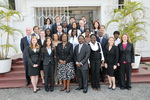 Meeting With Chief Justice, Ghana Summer Program 2009 by Fordham Law School