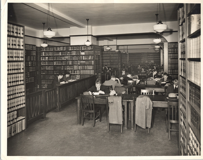 The Woolworth Building - Library