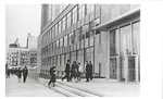 Exterior - Students Entering Fordham Law School