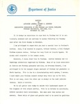 Address by Attorney General Robert F. Kennedy at the Dedication Ceremonies of Fordham Law School