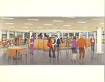 Architectural Renderings - Cafeteria