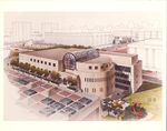 Architectural Renderings - Aerial View, Fordham Law School by Tesla