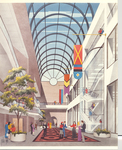 Architectural Renderings - Edith Guldi Platt Atrium by Tesla