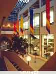 Edith Guldi Platt Atrium by Fordham Law School