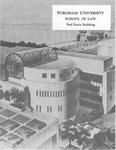 Ned Doyle Building Dedication by Fordham Law School