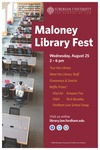 Flyer / Poster by Maloney Library, Fordham University School of Law