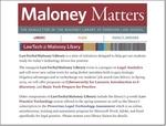 November 2018 by Maloney Library, Fordham University School of Law