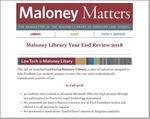 December 2018 by Maloney Library, Fordham University School of Law