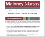 December 2019 by Maloney Library, Fordham University School of Law