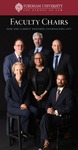Faculty Chairs: New and Currently Endowed Chairholders 2017