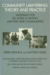 Community Lawyering: Theory and Practice by Derek Denckla and Matthew Diller