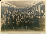 Class Portrait - Law Library by White StudioS, N.Y.