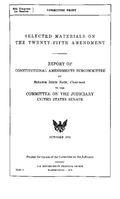 Twenty-fifth Amendment