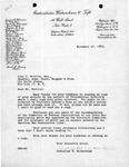 Cornelius W. Wickersham to John D. Feerick