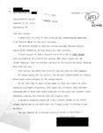 Letter from a Connecticut Supporter to Geraldine Ferraro by Geraldine Ferraro