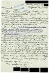 Letter from a Connecticut Supporter to Geraldine Ferraro