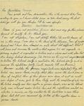 Letter from an Australian to Geraldine Ferraro