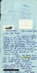 Letter from Professor Leo Achten to Geraldine Ferraro