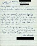 Letter from a Bermudan Supporter to Geraldine Ferraro