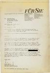 Letter from Dr. Fritz K.H. Bauer, Editor of Fur Sie, to Geraldine Ferraro