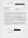 Letter from a Taiwanese Supporter to Geraldine Ferraro