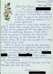 Letter from a Student in Sweden to Geraldine Ferraro