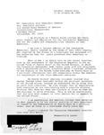 Letter from a Puerto Rican Citizen to Geraldine Ferraro