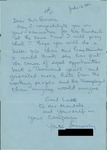 Letter from a Welsh Supporter to Geraldine Ferraro