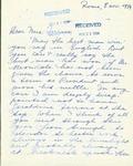 Letter from an Italian Supporter to Geraldine Ferraro