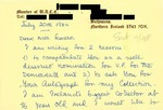Letter from an Irish Supporter to Geraldine Ferraro